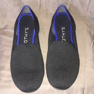 EUC Rothy's Solid Black Loafers, 8
